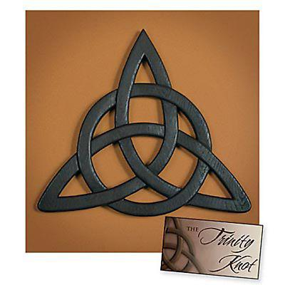 Celtic Trinity Knot Wall Hanging And Card