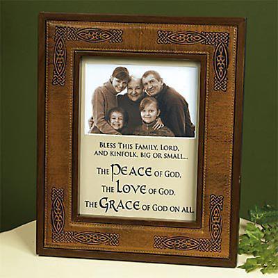 Irish Ancestry Photo Frame