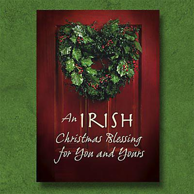 Irish Christmas - Irish Wreath Christmas Cards