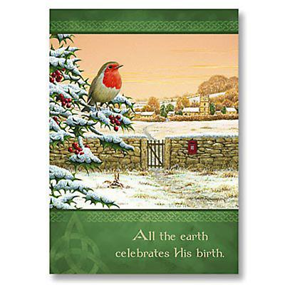 Irish Christmas - All the Earth Celebrates  Christmas Cards