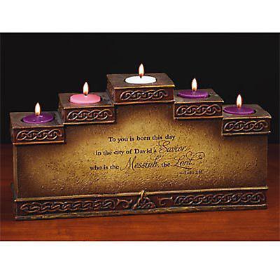 Irish Christmas - Irish Advent Candleholder