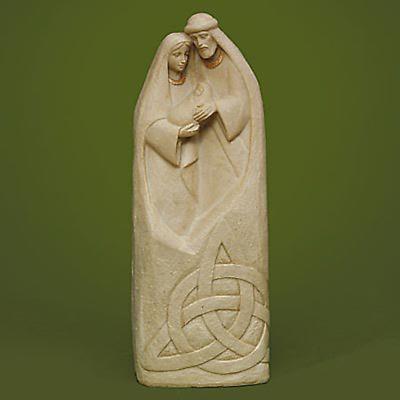 Irish Christmas - Trinity Knot Holy Family Figurine
