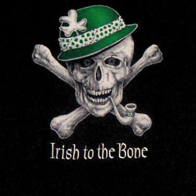 "Irish T-Shirt - ""Irish to the Bone"""