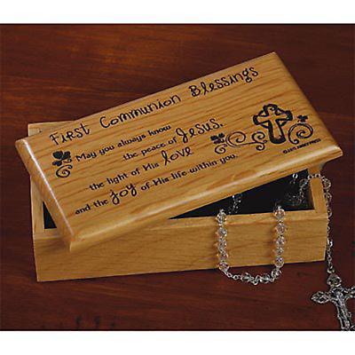 Irish First Communion Box