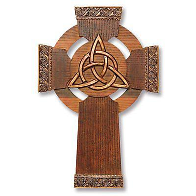 Trinity Knot Wall Cross and Card