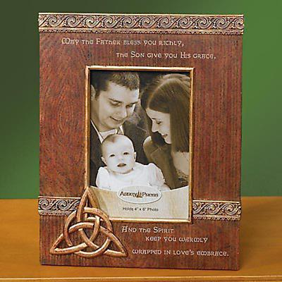 Trinity Knot Photo Frame and Card