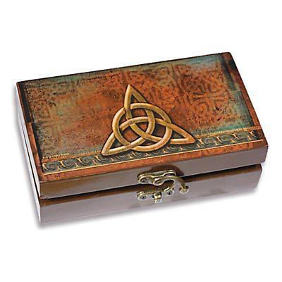 Trinity Knot Trinket Box and Card