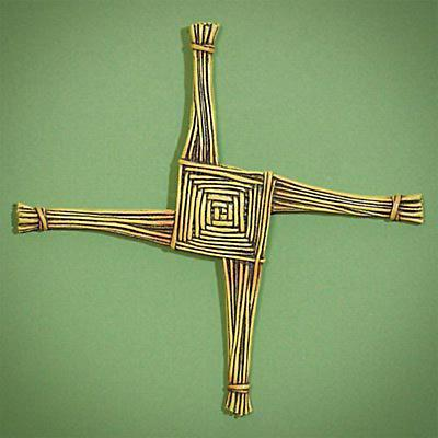 St. Brigid's Cross and Card