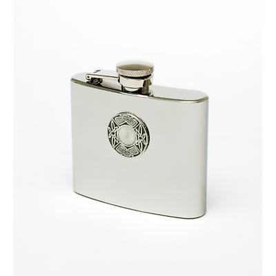 Celtic Irish Whiskey Flask - Pewter