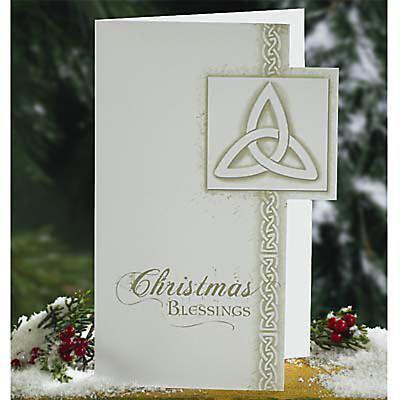 Irish Trinity Knot Christmas Card