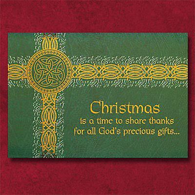 Irish Christmas - Celtic Knotwork Christmas Cards