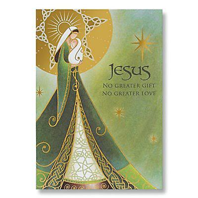 Irish Christmas - Madonna and Child Irish Christmas Cards