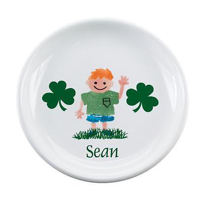 """Personalized 8"""" Irish Kids Plate"""