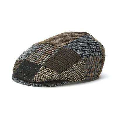Vintage Irish Patchwork Tweed Cap