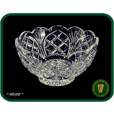 Irish Crystal - Heritage Crystal 7 inch Scalloped Bowl