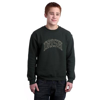 Irish Embroidered Sweatshirt - Forest Green