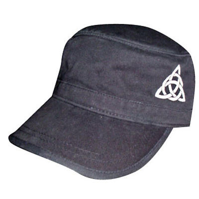 Celtic Trinity Knot Corps Hat - Black