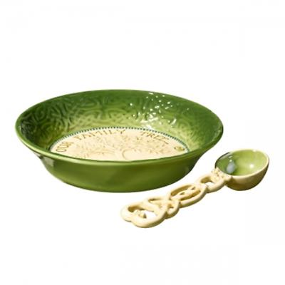 Irish Kitchen - Celtic Nut Bowl and Spoon