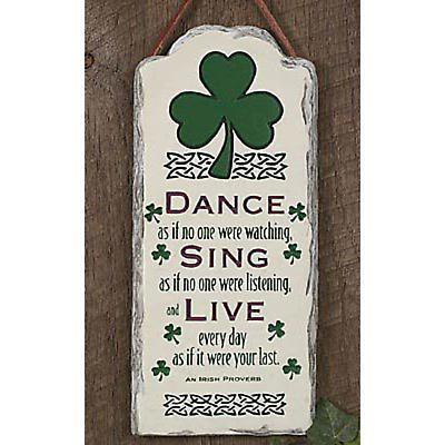 """Dance, Sing, Live"" Plaque"