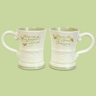 Irish Christmas - Gaelic Christmas Greetings Mug