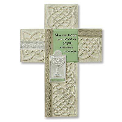 Irish First Communion Cross