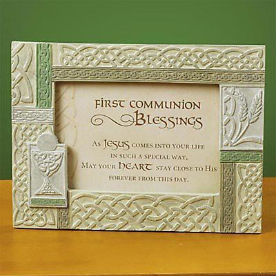 Irish First Communion Photo Frame
