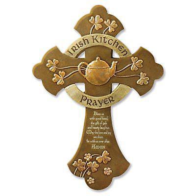 Irish Kitchen Prayer Cross