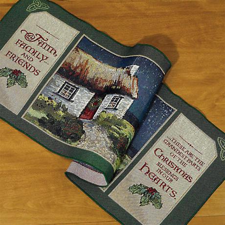 Irish Christmas - Blessings Tablerunner