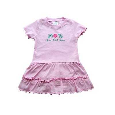 """Irish Dress - """"Wee Irish Rose"""" Pink Toddler Dress"""