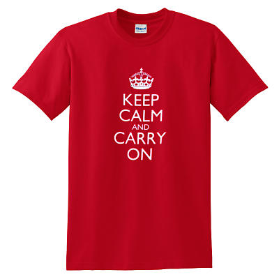 Irish T-Shirt - Keep Calm and Carry On