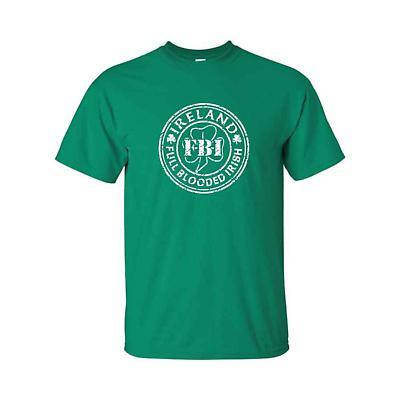 Irish T-Shirt - FBI Full Blooded Irish