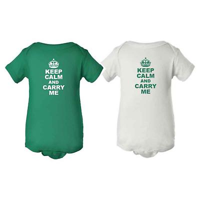 Irish Romper - Keep Calm and Carry Me