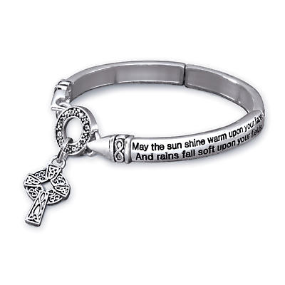 Irish Blessing Stretch Bracelet