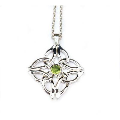 Celtic Pendant - Sterling Silver Grainne Knot Pendant