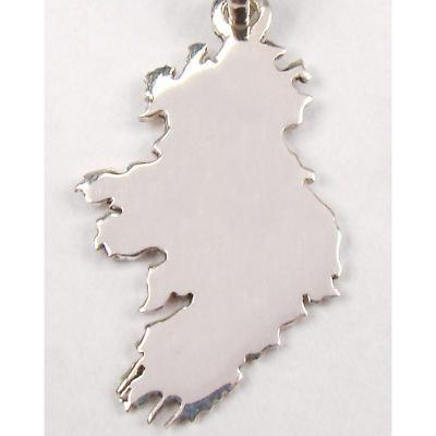 Irish Pendant - Sterling Silver 'Mise Eire' - I Am Ireland Pendant