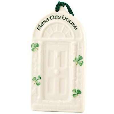 Irish Christmas - Belleek House Blessing Ornament