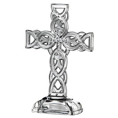 "Galway Crystal 10"" Celtic Cross"