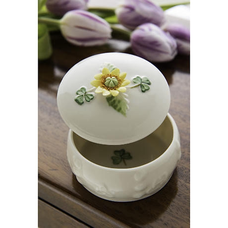 Belleek Sunflower Gift Box