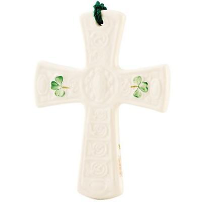 Irish Christmas - Belleek Saint Patrick's Cross Ornament