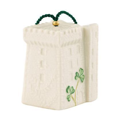 Irish Christmas - Belleek Blarney Castle Bell Ornament