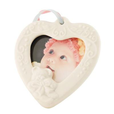 Irish Christmas - Belleek Baby Frame Hanging Ornament