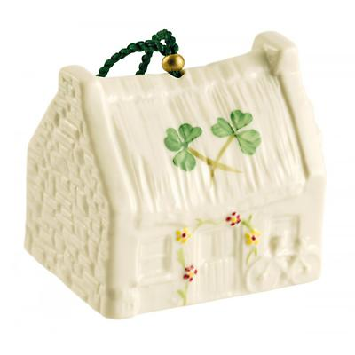 Irish Christmas - Belleek Claddagh Cottage Annual Ornament