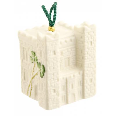 Irish Christmas - Belleek Ardee Castle Ornament