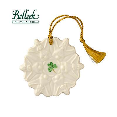 Irish Christmas - Belleek Angel Snowflake Ornament