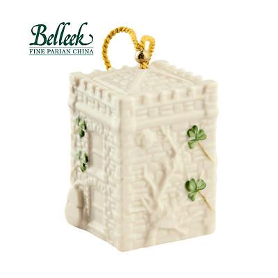 Irish Christmas - Belleek Castle Caldwell Gate House Annual 2015 Bell Ornament