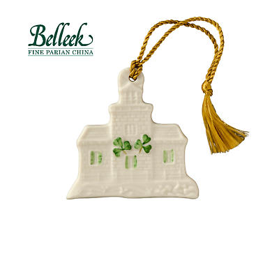 Irish Christmas - Belleek Blacksod Lighthouse Ornament