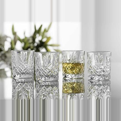 Galway Crystal Renmore DOF Glasses - Set of 4