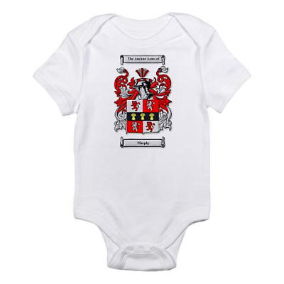 Personalized Coat of Arms Baby Romper