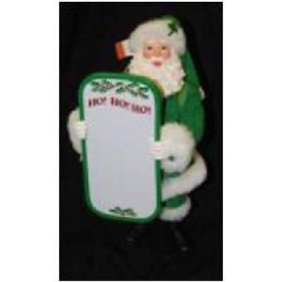 Irish Christmas - A Wee Note Santa Figurine