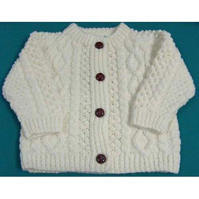 Irish Sweater - Children's Aran Cardigan